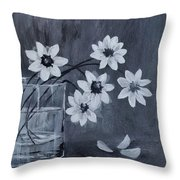 A Lovely Bouquet Of Daisies Throw Pillow