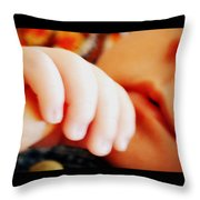 A Loving Touch Throw Pillow