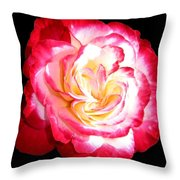 A Magnificent Rose Throw Pillow