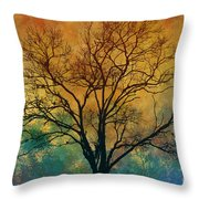 A Magnificent Tree Throw Pillow
