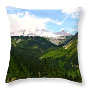 A Majestic View  Throw Pillow