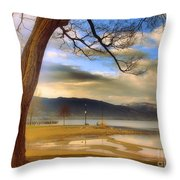 A March Morning Throw Pillow