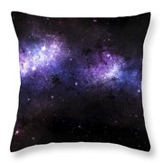 A Massive Nebula Covers A Huge Region Throw Pillow by Justin Kelly