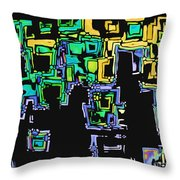 A Maze Thing - 01ac05 Throw Pillow