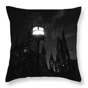 A Medieval Nights Dream Throw Pillow