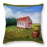 A Mighty Fortress Throw Pillow