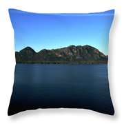 A Mighty Mountain Throw Pillow