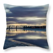 A Minute Of My Time... Throw Pillow