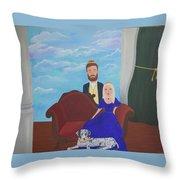 A Modern Renaissance Throw Pillow
