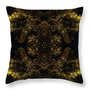 A Moment Bristling Throw Pillow