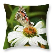 A Moment Comes Throw Pillow