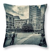 A Moment In Southwark, London. Throw Pillow