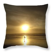 A Moment In The Sun Throw Pillow