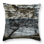 A Moment Of Harmony  Throw Pillow