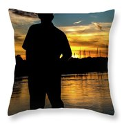 A Moment To Reflect Throw Pillow