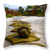 A Moment To Stop Throw Pillow