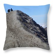 A Moment Together  Throw Pillow