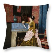A Moments Reflection Throw Pillow