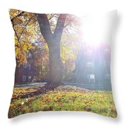 A Morning In Fall Throw Pillow