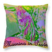 A Morning In Provence Throw Pillow