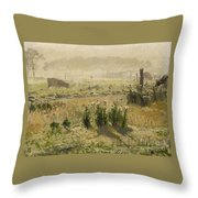 A Morning Mood Throw Pillow