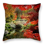 A Most Beautiful Spot Throw Pillow by Jon Holiday