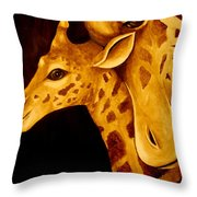 A Mother Throw Pillow