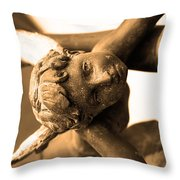 A Mother's Angel Throw Pillow