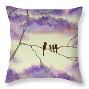 A Mothers Blessings Throw Pillow
