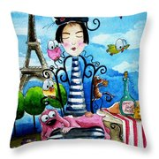 A Moveable Feast Throw Pillow