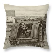 A Much Simpler Time Throw Pillow