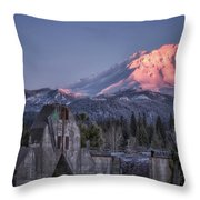 A New Day At An Old Site Throw Pillow