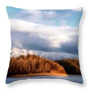 A New Day Dawns Throw Pillow