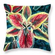 A New Day Throw Pillow by Jennifer McDuffie