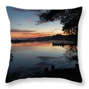 A New Day... Throw Pillow