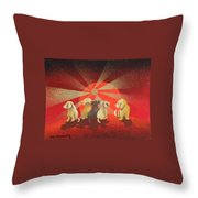 A New Day Waiting Throw Pillow
