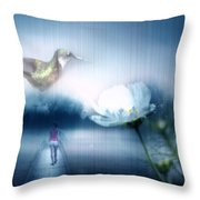 A New Dream Takes Hold Throw Pillow