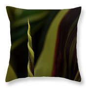 A New Leaf Is Born Throw Pillow