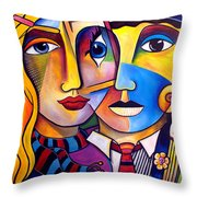 A New Perspective Throw Pillow