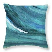 A New Start- Art By Linda Woods Throw Pillow