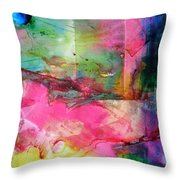 A New World Dawning Throw Pillow