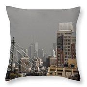 A New York Composite Throw Pillow