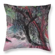 A Nice Day Throw Pillow