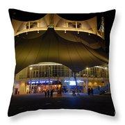 A Night At The Circus Throw Pillow