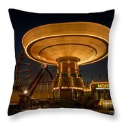 A Night At The Fair Throw Pillow