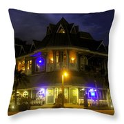 A Night At The Hurricane Throw Pillow