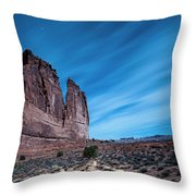 A Nightly Instrument Throw Pillow