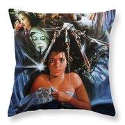 A Nightmare On Elm Street 1984 Throw Pillow