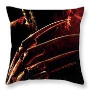 A Nightmare On Elm Street 2010 Throw Pillow
