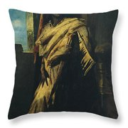 A Nubian Throw Pillow